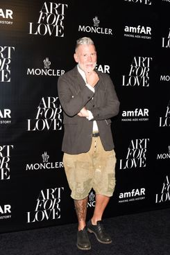 Nick Wooster, classic man.