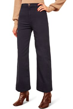 Reformation Jane Wide Leg Nonstretch Jeans