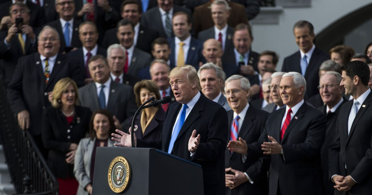Trump's Party, Not His Idiocy, Increased the Deficit