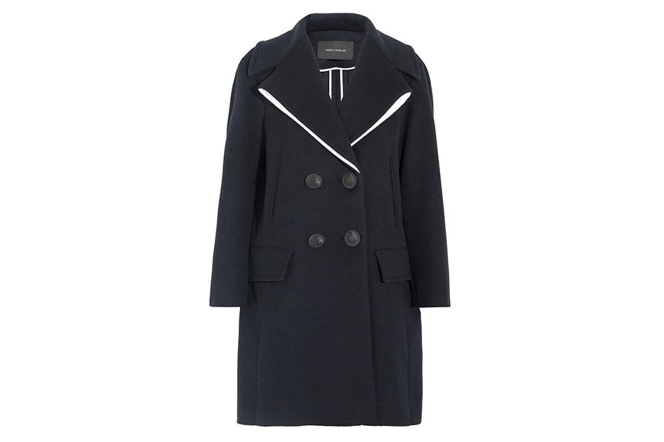 Cédric Charlier double-breasted wool-blend coat