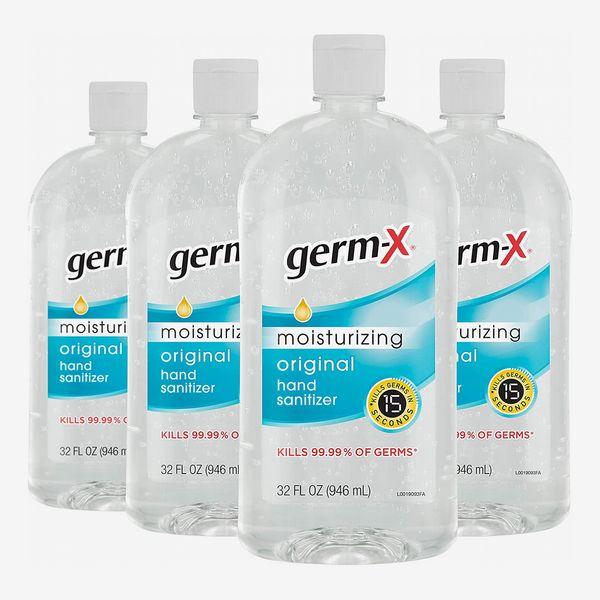 Germ-X Original Hand Sanitizer, 32 Fluid Ounces (Pack of 4)