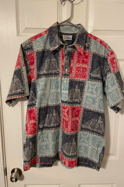 Vintage Reyn Spooner Reverse Print Button Up Shirt