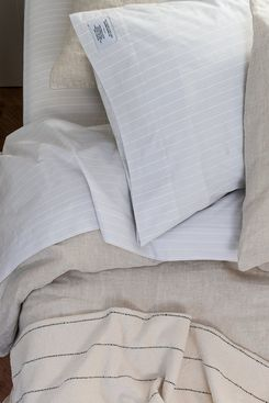 Schoolhouse Natural Linen Duvet Cover
