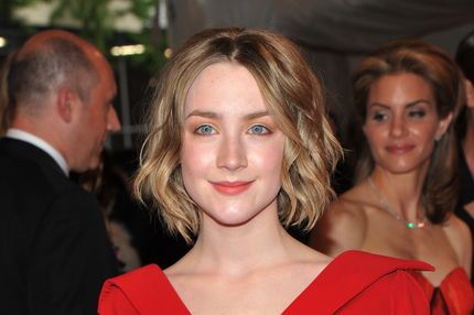 "NEW YORK, NY - MAY 02:  Actress Saoirse Ronan attends the ""Alexander McQueen: Savage Beauty"" Costume Institute Gala at The Metropolitan Museum of Art on May 2, 2011 in New York City.  (Photo by Stephen Lovekin/Getty Images) *** Local Caption *** Saoirse Ronan;"