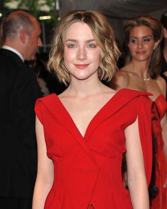 NEW YORK, NY - MAY 02: Actress Saoirse Ronan attends the