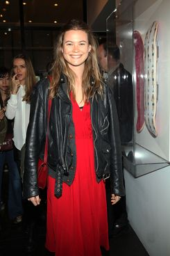 Model Behati Prinsloo attends Scott Morrison and Ben Watts limited edition skateboard series unveiling