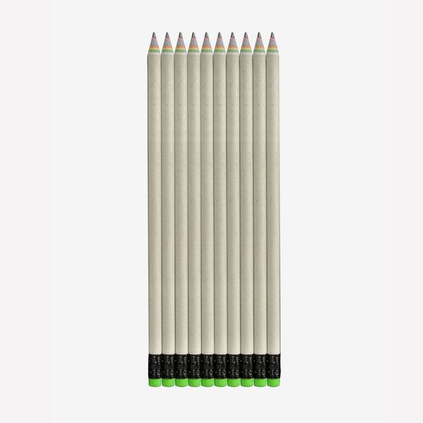 Treewise Recycled-Paper Rainbow Pencils (10-Pack)