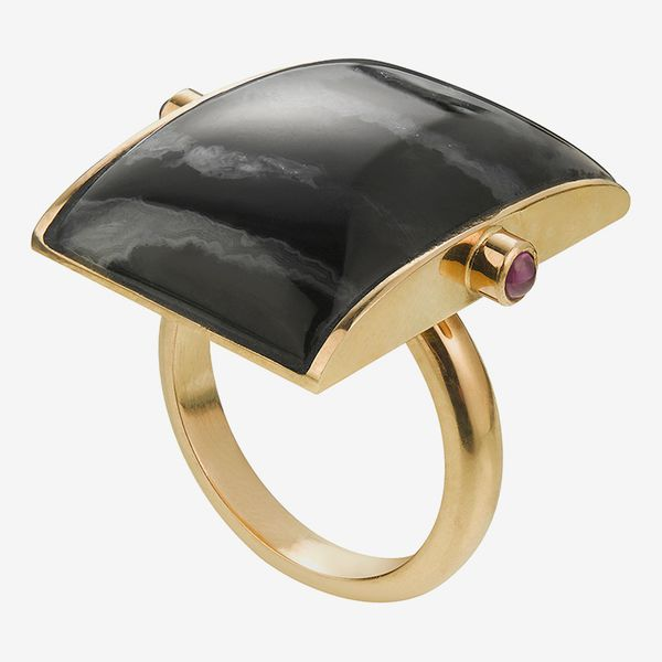 Zebra Agate Ring
