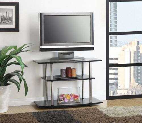 Convenience Concepts Designs2Go 3-Tiered TV Stand
