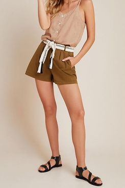 Kelyn Pleated City Shorts