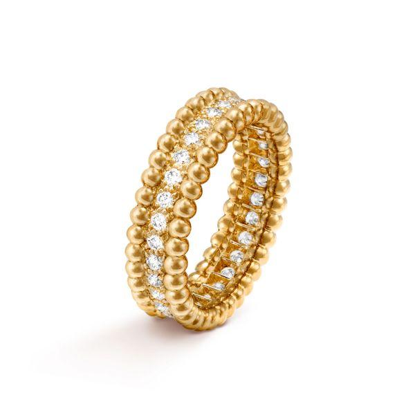 Van Cleef & Arpels Perlée Diamonds Ring