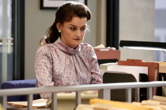 "THE AMERICANS -- ""One Day in the Life of Anton Baklanov"" Episode 311 (Airs Wednesday, April 8, 10:00 PM e/p) Pictured:  Alison Wright as Martha Hanson. CR: Patrick Harbon/FX"