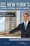 New York's Leading Personal Injury Lawyers 2017