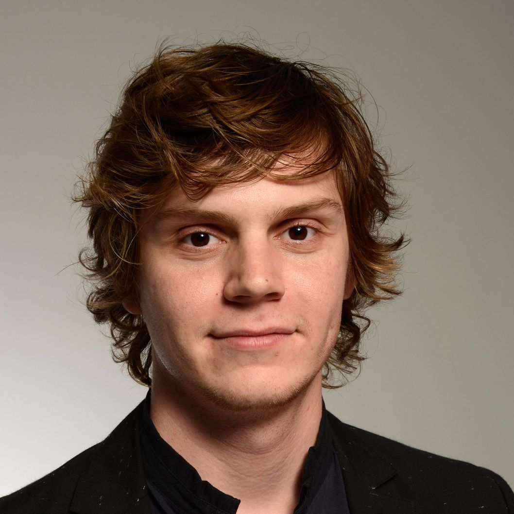 "Actor Evan Peters of the film ""Adult World"" attends the Tribeca Film Festival 2013 portrait studio on April 19, 2013 in New York City."