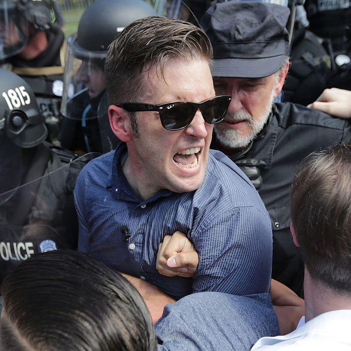 White nationalist activist Richard Spencer.