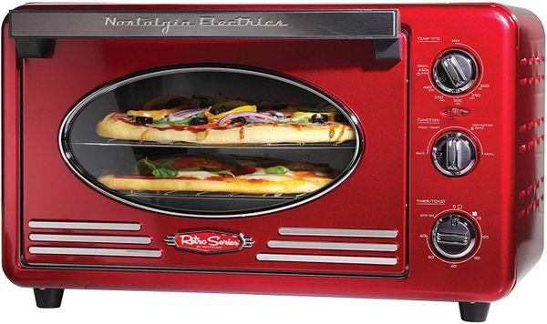 Nostalgia Retro 12-Slice Convection Toaster Oven