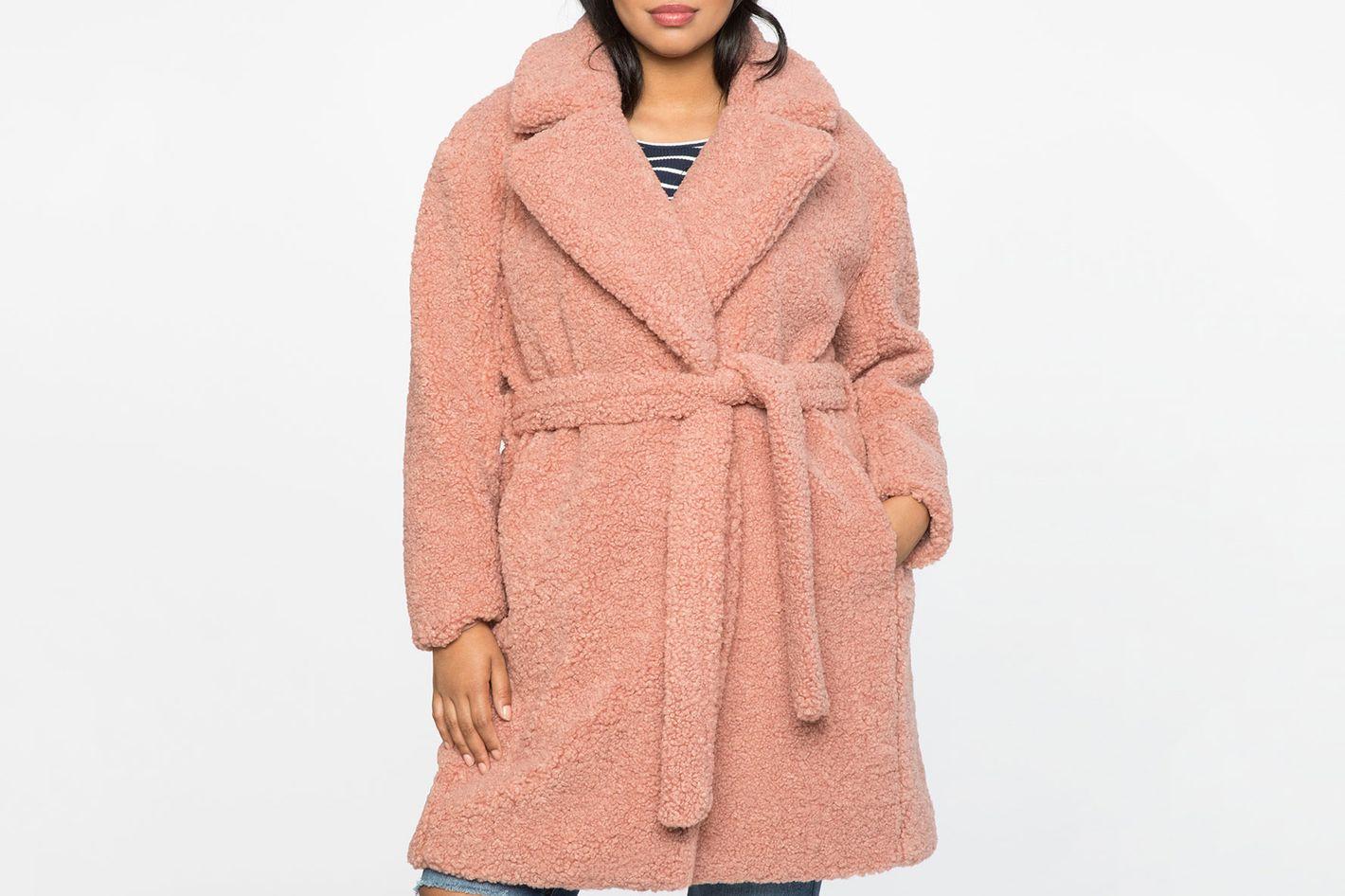 Boucle Teddy Coat