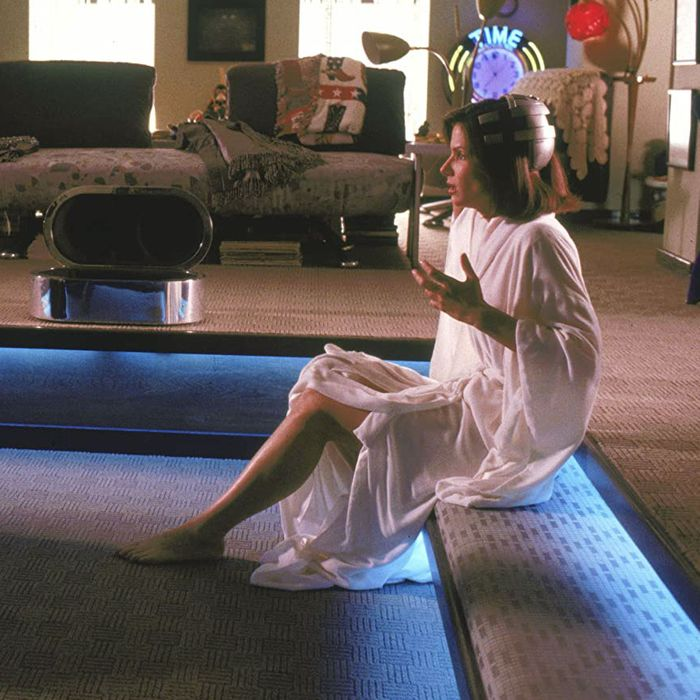 Sylvester Stallone and Sandra Bullock give vir-sex a go in Demolition Man