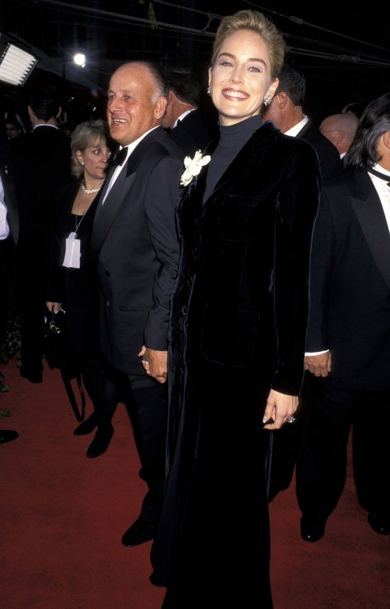 "<b>Controversy:</b> Legend has it that Stone was having a ""I have nothing to wear"" fit on Oscar night and eventually paired a Gap turtleneck tee with a Valentino gown and history was made.  <b>Resolution:</b> This is the only victory Sharon has ever had at the Oscars."