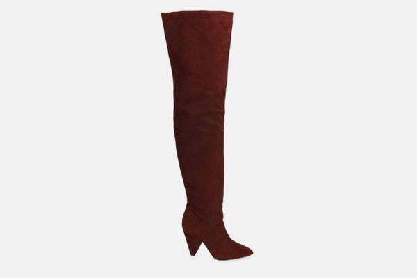 Galway Over the Knee Suede Slouch Boot