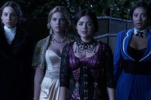 photo abc pretty little liars show pretty little liars episode title grave new world season 4 - Halloween Episode Pll Season 4
