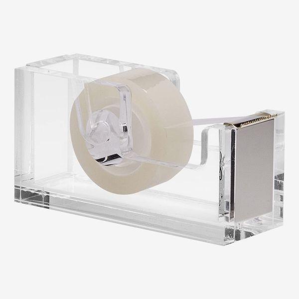 OfficeGoods Acrylic & Silver Tape Dispenser