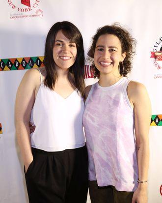 Abbi Jacobson, Ilana Glazer==Gilda's Club of New York City's