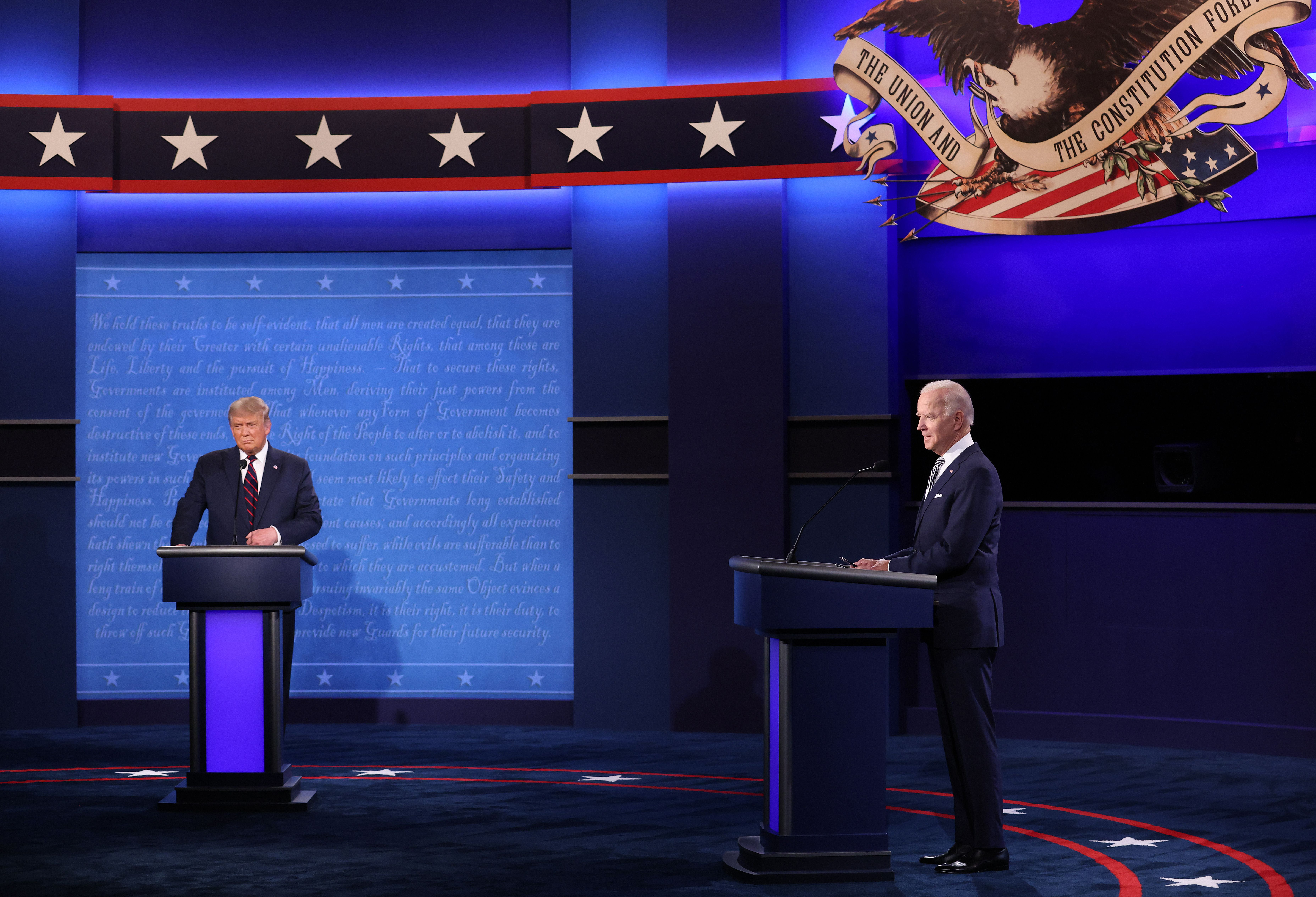 Highlights From 2020 Presidential Debate Of Trump Vs Biden