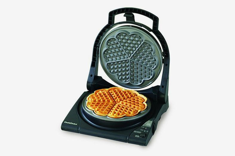 Chef'sChoice 840 WafflePro Traditional Five of Hearts Waffle Maker