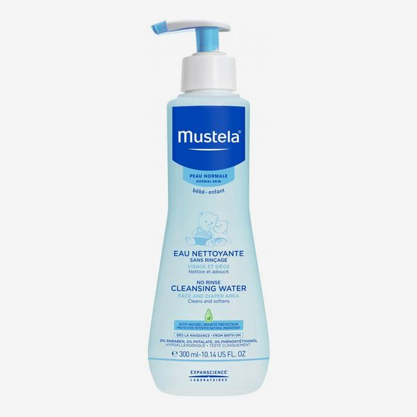 Mustela No Rinse Cleansing Water for Baby's Face, Body, and Diaper