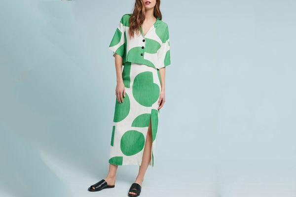 Mara Hoffman Polly Column Skirt