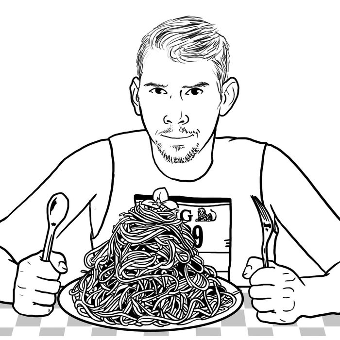 A special menu for marathoners includes four half-portions of solid starch.