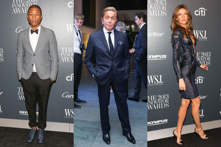 Guests at the WSJ. Innovator awards.