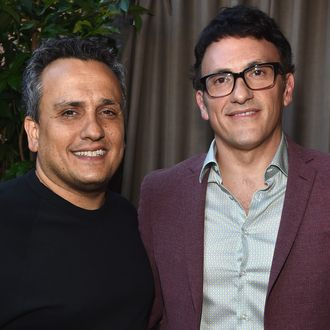 HOLLYWOOD, CA - AUGUST 14: Directors Joe Russo and Anthony Russo attend the Hollyshorts 10th Anniversary Opening Night at The TCL Chinese Theatres on August 14, 2014 in Hollywood, California. (Photo by Alberto E. Rodriguez/Getty Images)