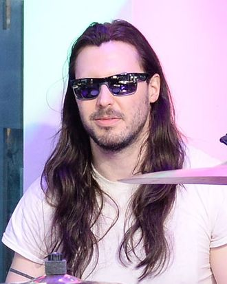 Andrew W.K. performs during the MTV, VH1, CMT & LOGO 2013 O Music Awards on June 19, 2013 in New York City.