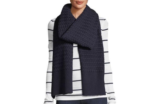 Canada Goose Basket Stitch Wool Scarf