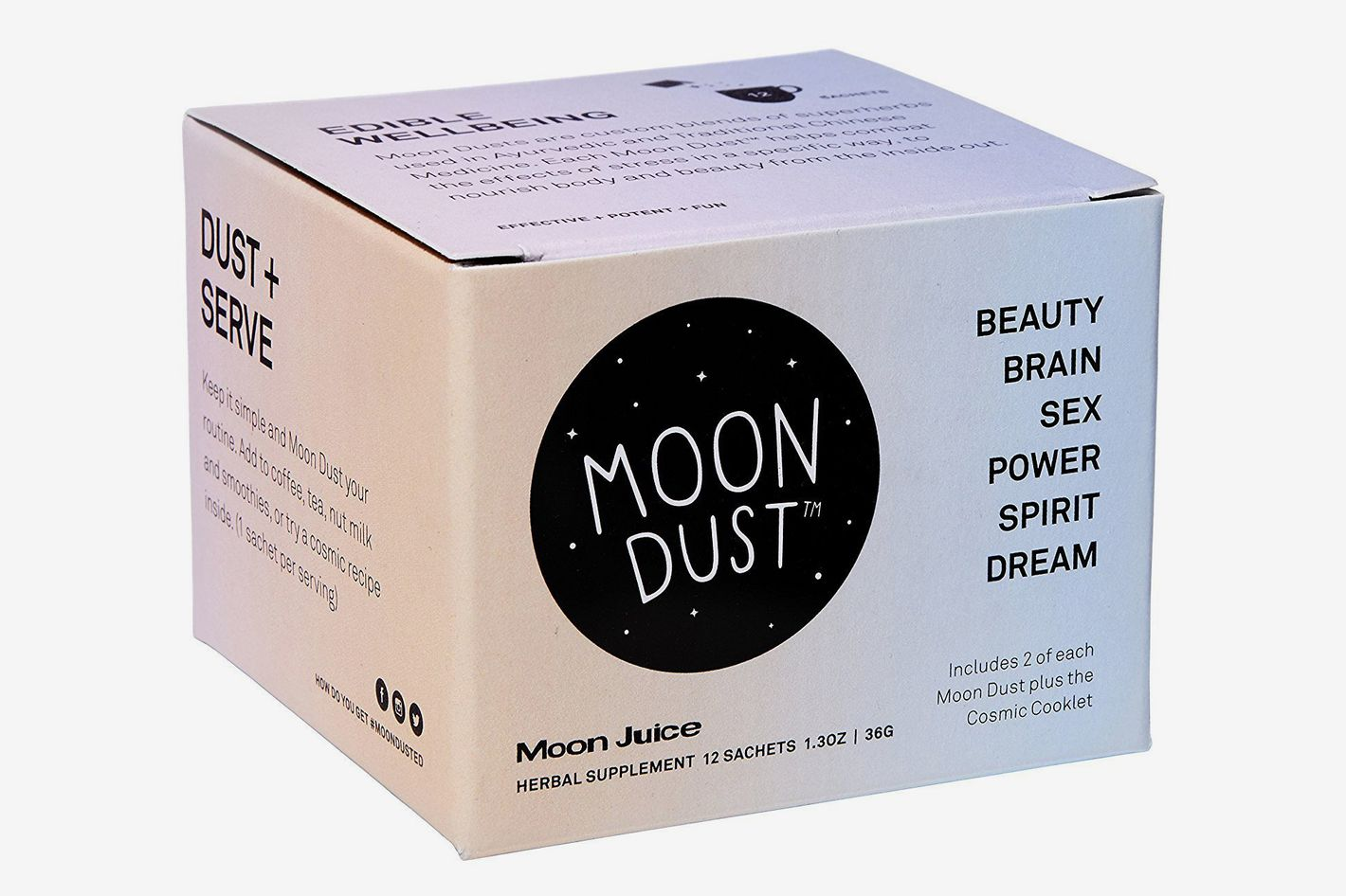 Moon Juice — Organic + Wildcrafted Full Moon Dust Sampler Box