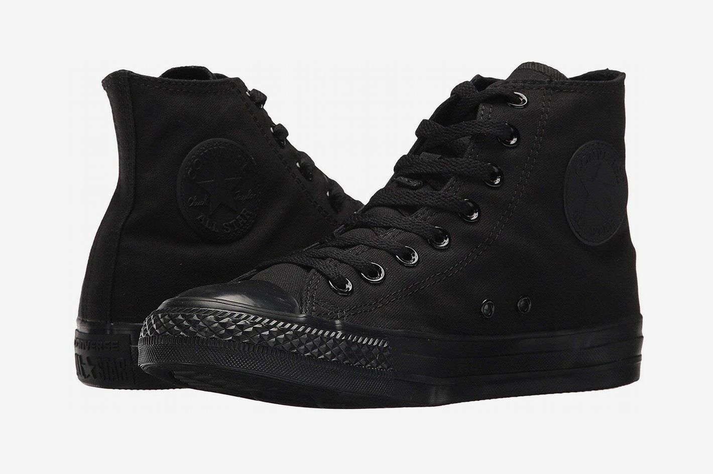 8522b59d48328b The Best Monochrome Black Sneakers. Converse Chuck Taylor All Star High Top  Sneaker
