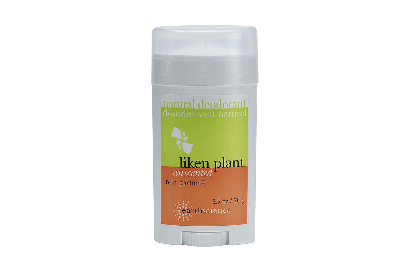 Earth Science Liken Unscented Deodorant