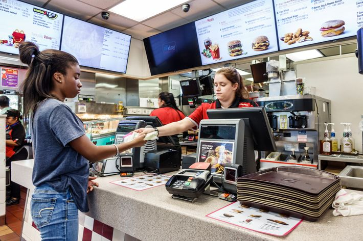 McDonald's employee.