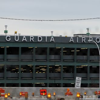 A view of LaGuardia Airport
