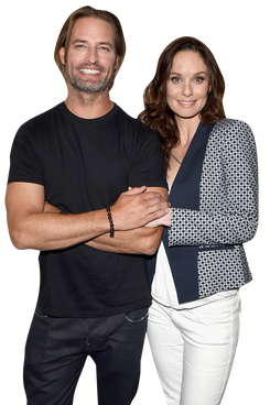 josh holloway and sarah wayne callies on colony vulture