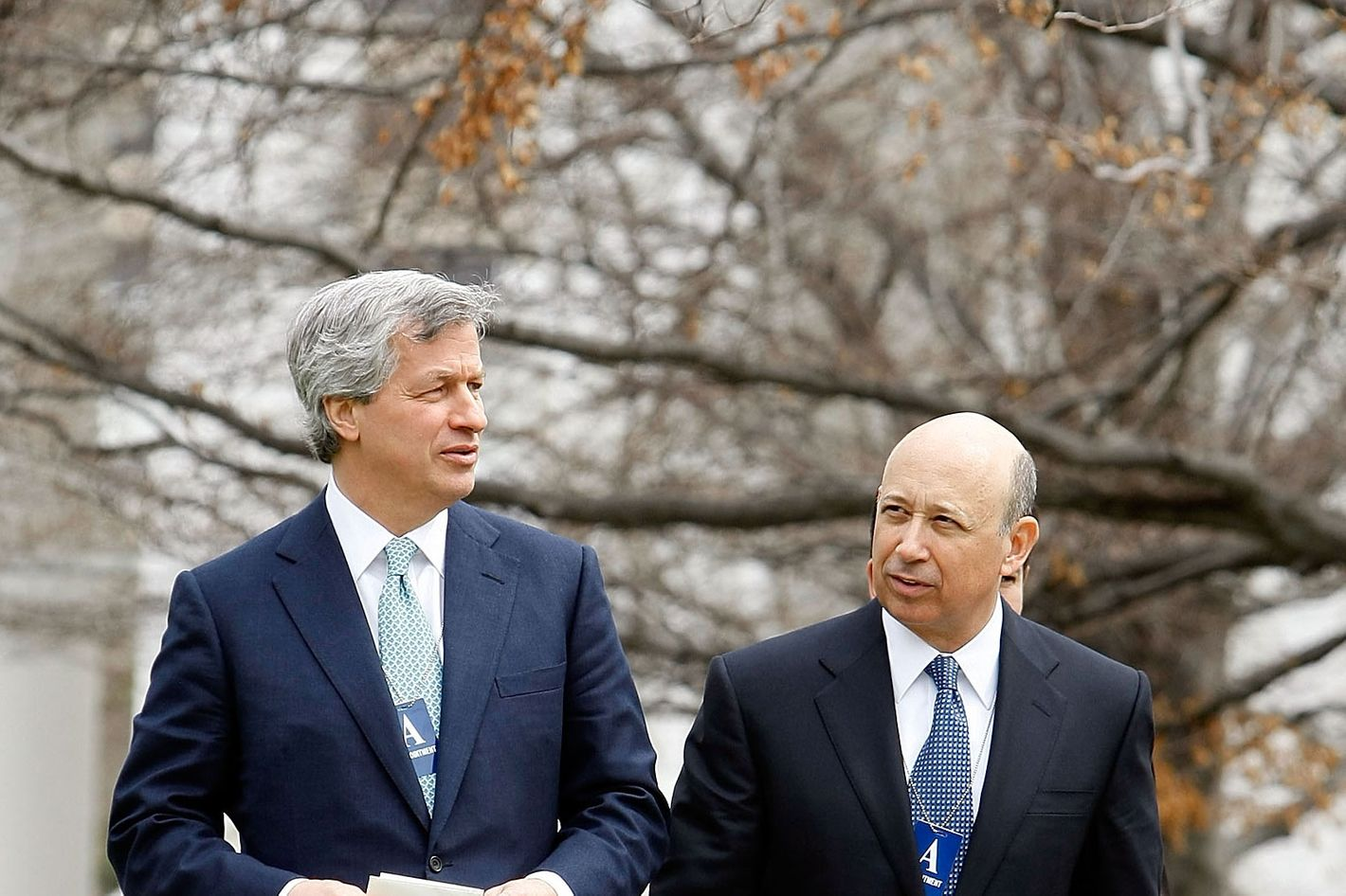 Inside the Jamie Dimon–Lloyd Blankfein Pep Talk