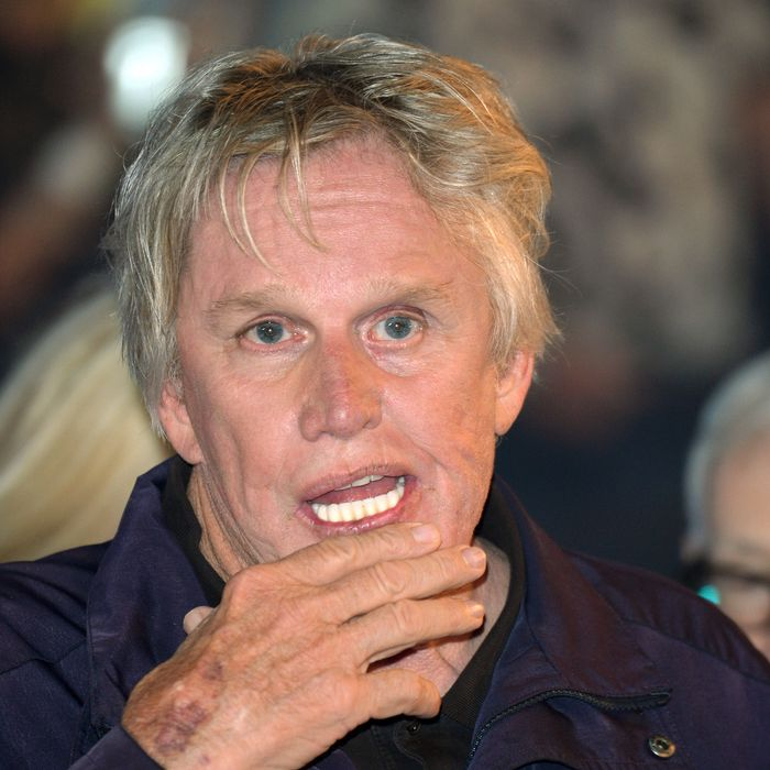 Gary Busey will not be your next boyfriend.