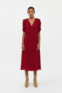 Farrow Claudia Printed Dress