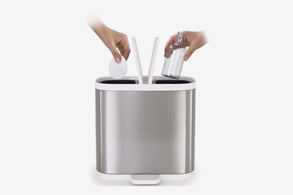 Joseph Joseph Split 6 Steel Waste and Recycle Bin