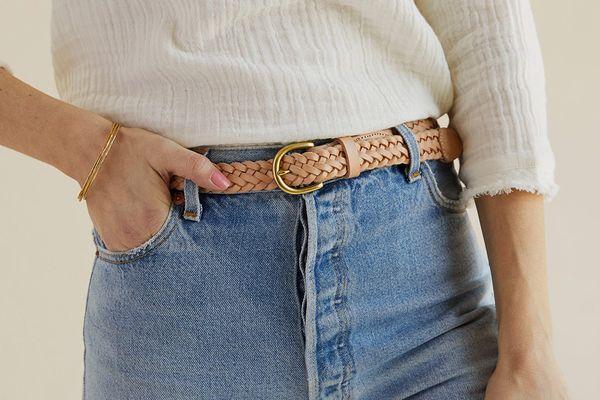 Nisolo Talia Braided Belt