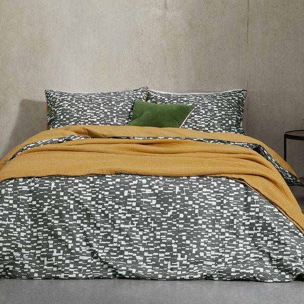 Romilly Cotton Duvet Cover + 2 Pillowcases, Double