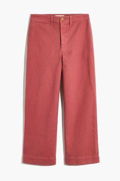 Curvy Slim Emmett Wide-Leg Crop Pants