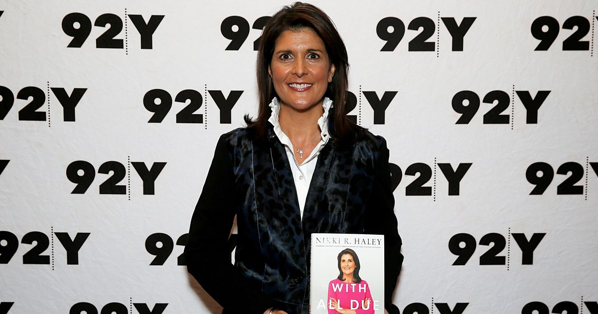 Don't Read the Confederate Flag Part of Nikki Haley's Book
